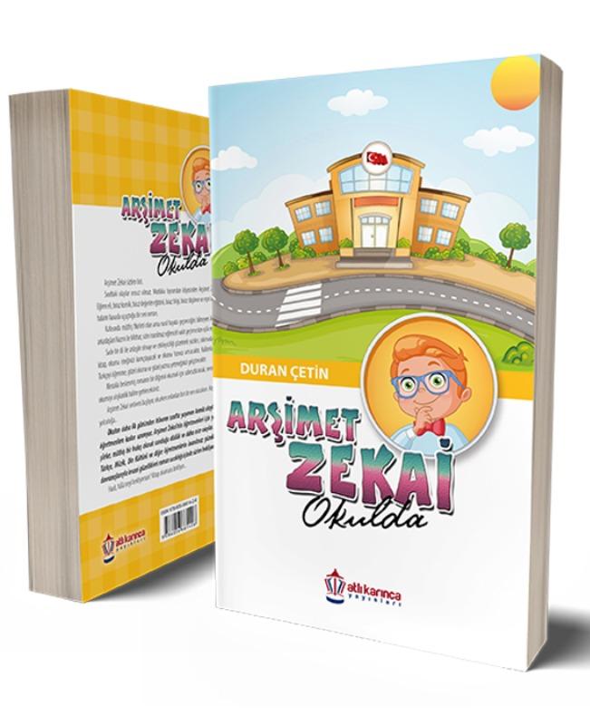 Arşimet Zekai Okulda Atlı Karınca Yayınları Duran Çetin
