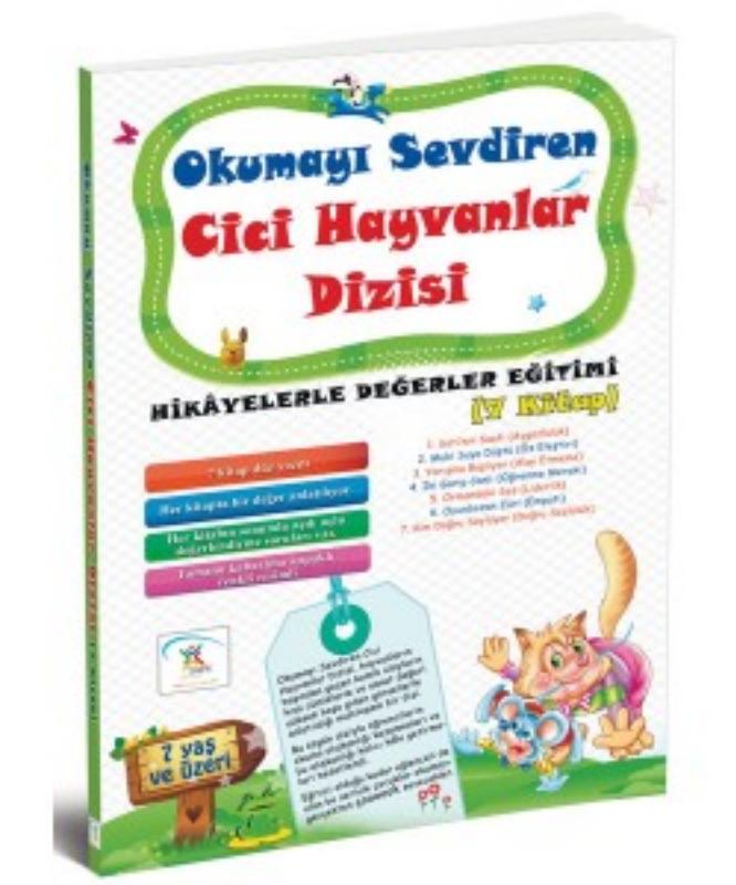 Okumayı Sevdiren Cici Hayvanlar (7 Kitap) 5Renk Yayınları