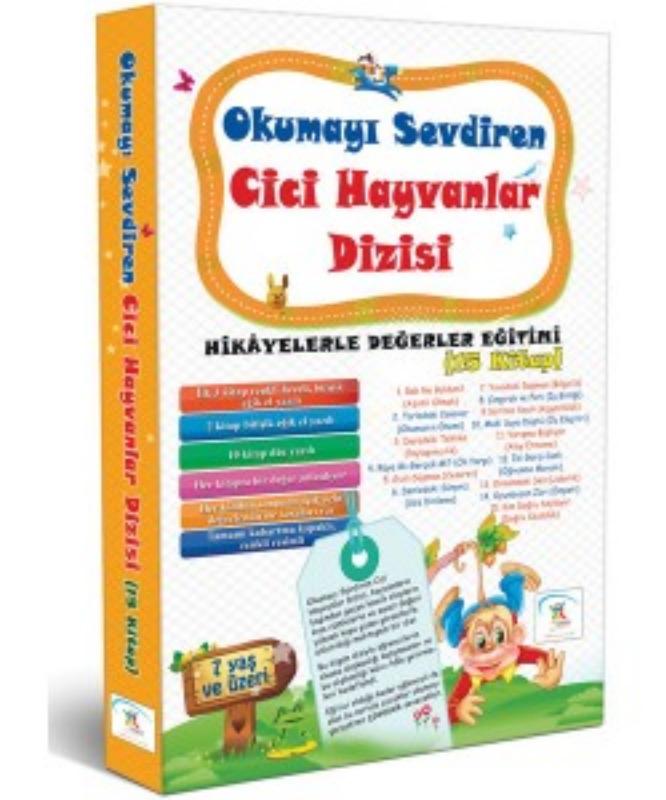 Okumayı Sevdiren Cici Hayvanlar (15 Kitap) 5Renk Yayınları