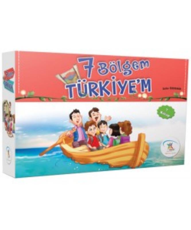 7 Bölgem Türkiye'm (7 Kitap) 5Renk Yayınları