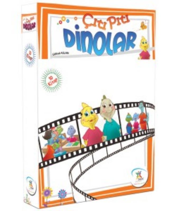 Çıtı Pıtı Dinolar (10 Kitap) 5Renk Yayınları