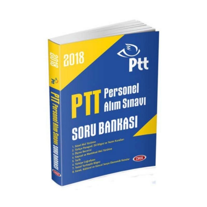 Data Yayınları 2018 PTT Personel Alım Sınavı Soru Bankası