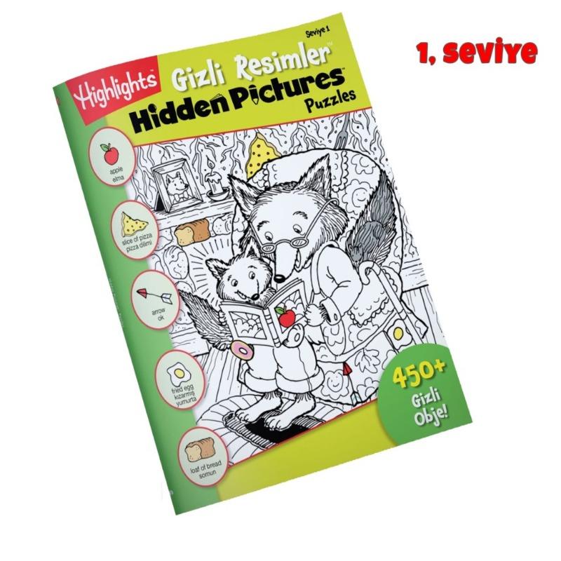Gizli Resimler-Hidden Picture -1 Zeka Çocuk Akademisi