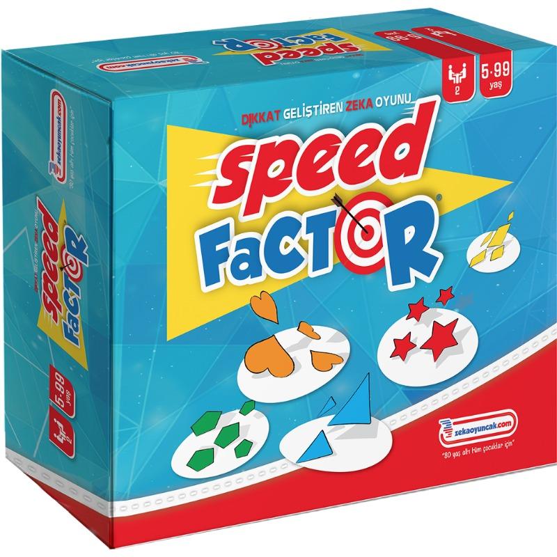 Speed Factor Dikkat Geliştiren Zeka Oyunu  Zeka Çocuk Akademisi