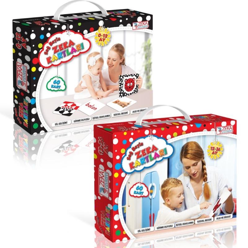 Bebek Zeka Kartları Sağ Beyin Bebek Zeka Kartları 12-36 Zeka Çocuk Akademisi