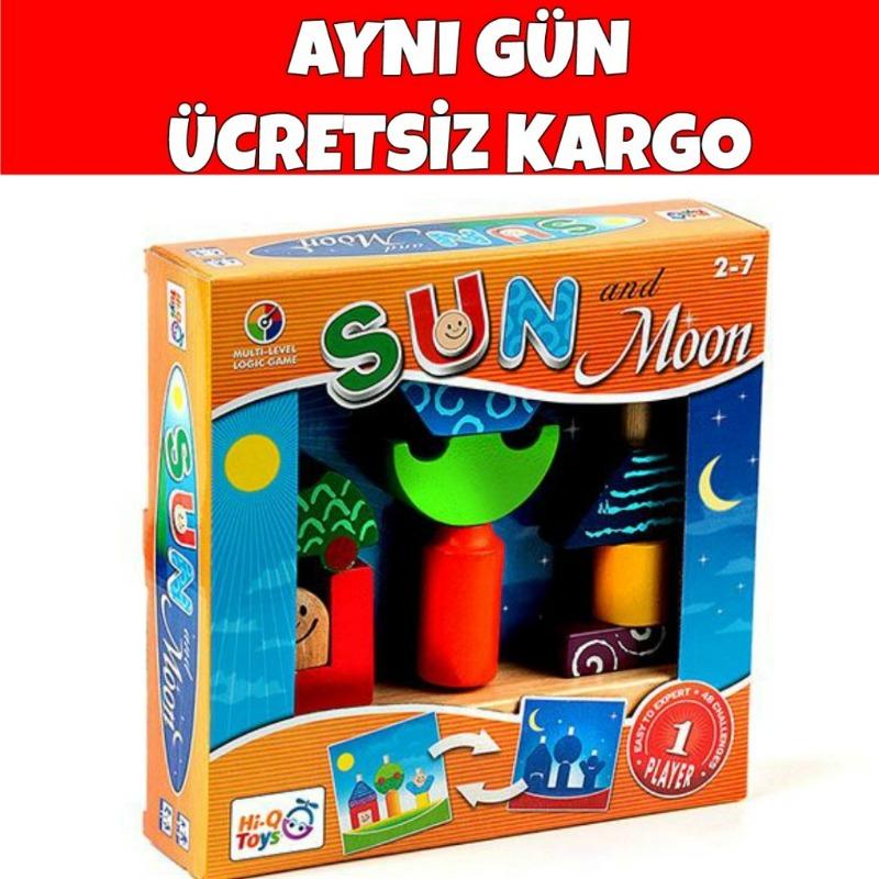 Sun MoonZeka ve Dikkat Geliştiren Oyun Zeka Çocuk Akademisi