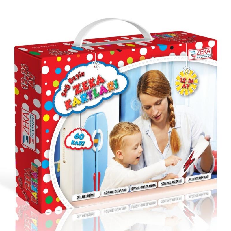 Bebek Zeka Kartları (12-36 ay) Zeka Çocuk Akademisi