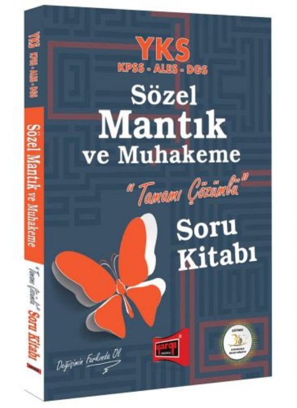 YKS KPSS ALES DGS Sözel Mantık ve Muhakeme Tamamı Çözümlü Soru Kitabı Yargı Yayınları
