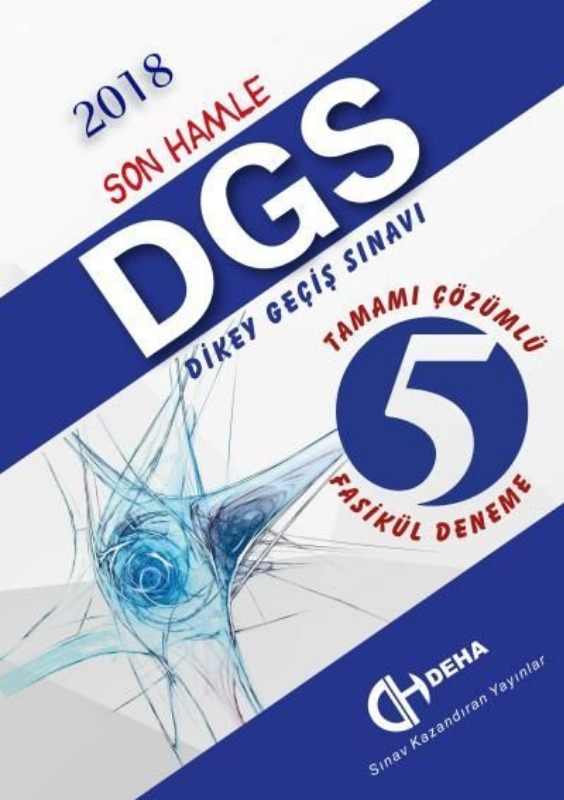 Deha Yayınları DGS Son Hamle Tamamı Çözümlü 5 Fasikül Deneme