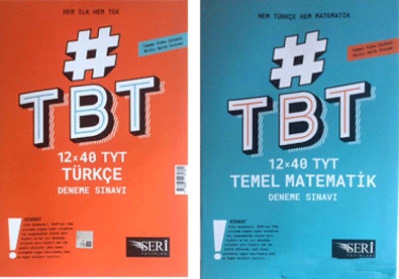 TYT Hem Türkçe Hem Matematik 12x40 Deneme Seri Yayınları