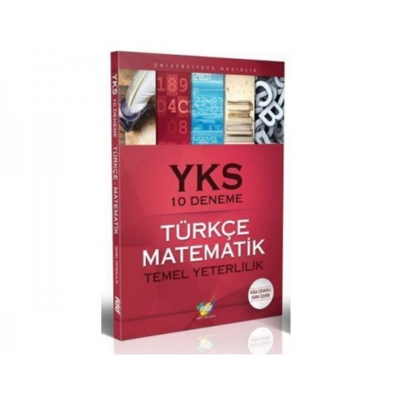FDD Yayinlari YKS 1. Oturum TYT Türkçe Matematik 10 Deneme