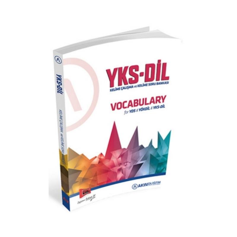 Akın Dil  Yargı Yayınları YKSDİL Vocabulary Kelime Çalışma ve Kelime Soru Bankası