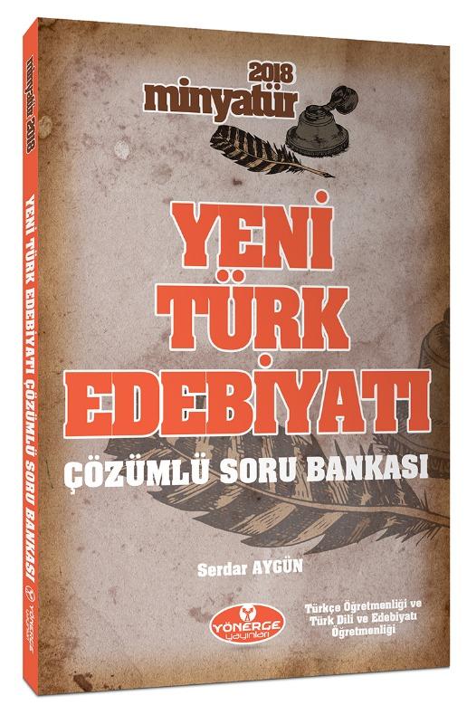 Minyatür Yeni Türk Edebiyatı Tamamı Çözümlü Soru Bankası Yönerge Yayınları