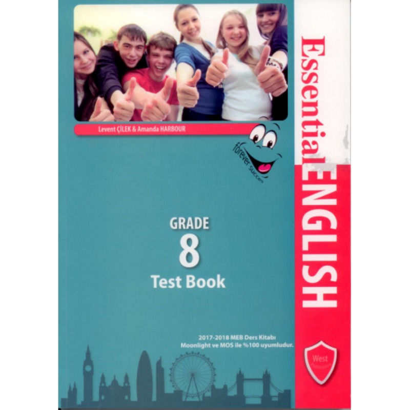 West Publishing Essential English Test Book Grade 8
