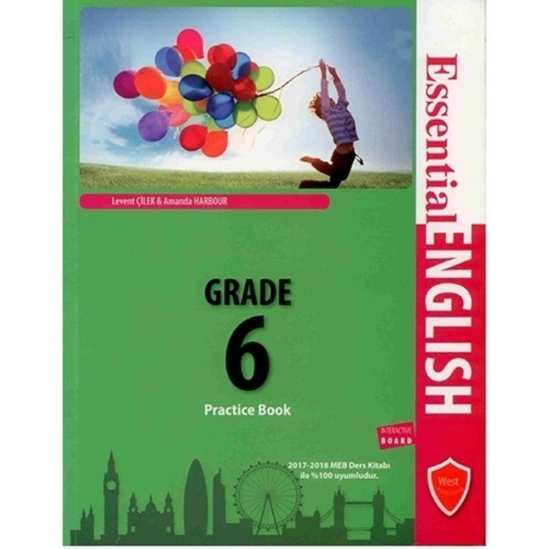 WEST Publishing Essential English Practice Book Grade 6
