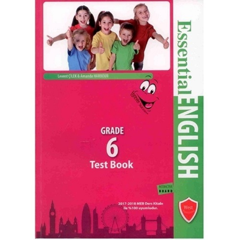 West Publishing Essential English Test Book Grade 6