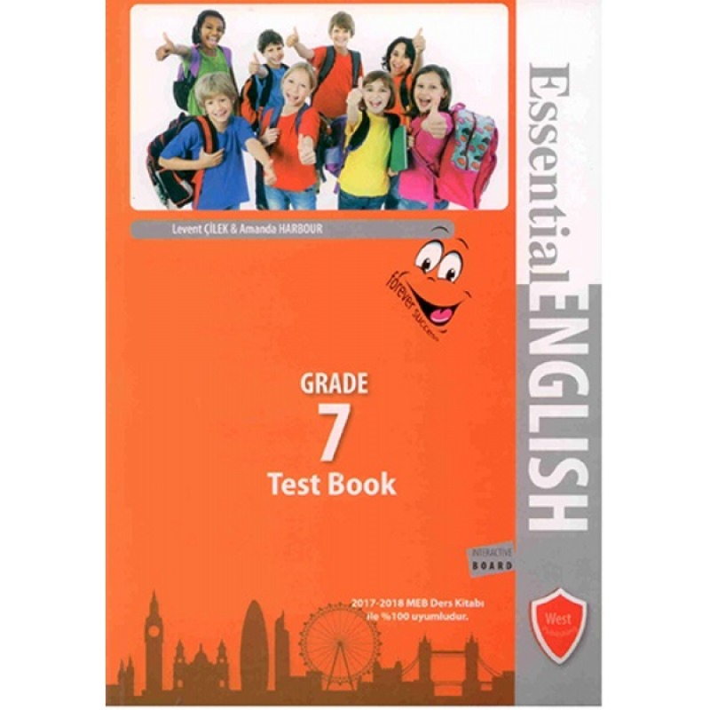 West Publishing Essential English Test Book Grade 7