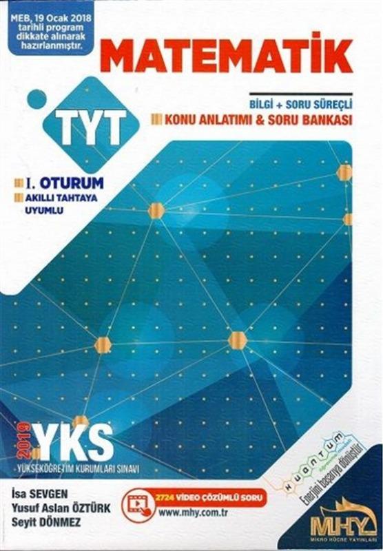 Mikro Hücre Yayınları TYT Matematik Konu Anlatımlı Soru Bankası