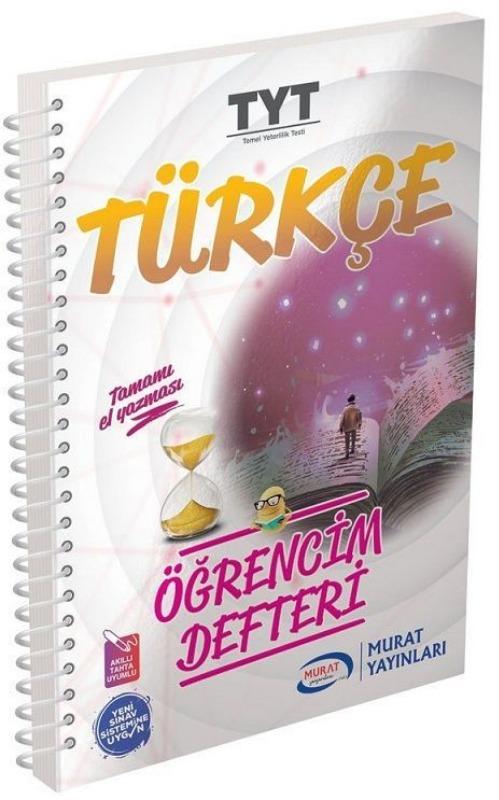 Murat Yayınları TYT Türkçe Öğrencim Defteri 3015