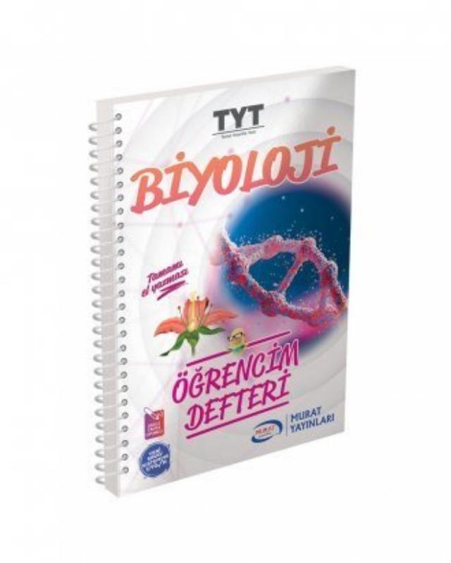 Murat Yayınları TYT Biyoloji Öğrencim Defteri 3001