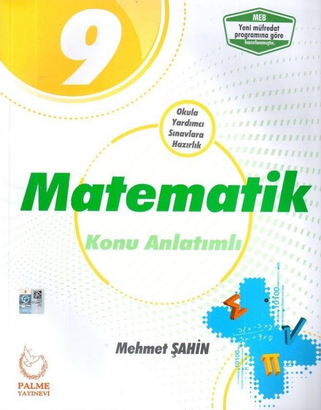 Palme Yayincilik 9. Sinif Matematik Konu Kitabi