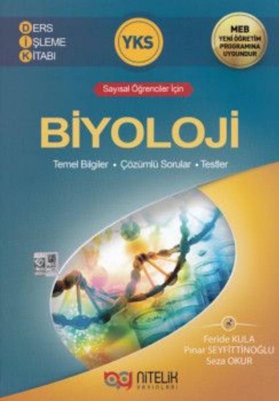 Nitelik Yayinlari YKS Biyoloji Ders Isleme Kitabi