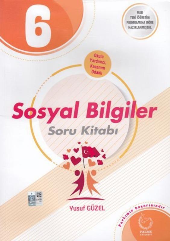 6. Sınıf Sosyal Bilgiler Soru Kitabı Palme Yayınları