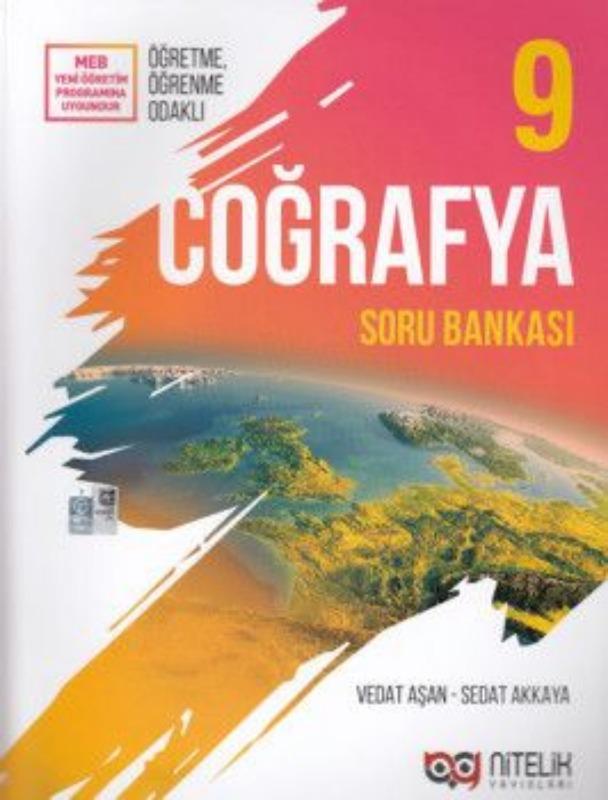 9. Sınıf Coğrafya Soru Bankası Nitelik Yayınları