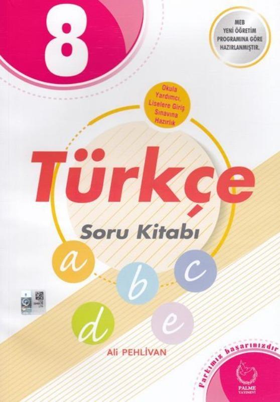 8. Sınıf Türkçe Soru Kitabı Palme Yayınları