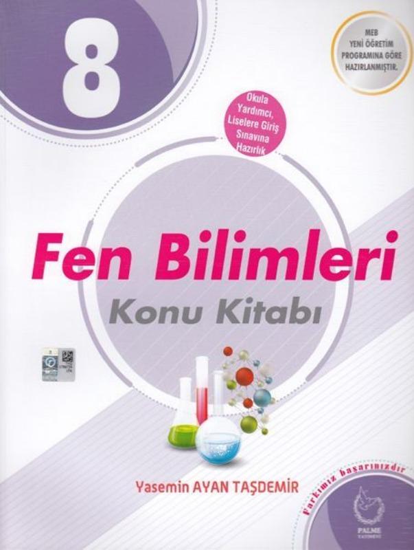 8. Sınıf Fen Bilimleri Konu Kitabı  Palme Yayınları