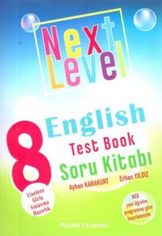 8. Sınıf Next Level English Test Booklet Yaprak Test Palme Yayınları