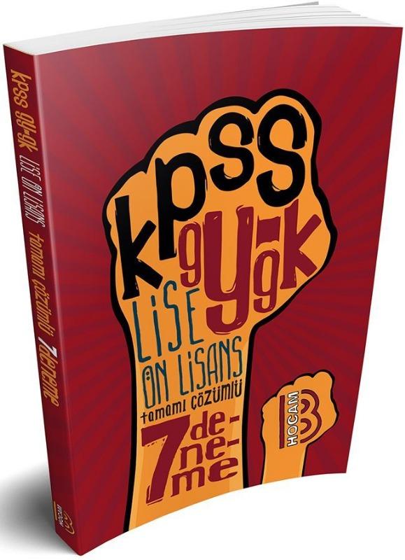 KPSS Lise Ön Lisans Genel Yetenek Genel Kültür Tamamı Çözümlü 7 Deneme Benim Hocam Yayınları