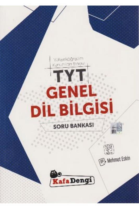 KafaDengi Yayınları TYT Genel Dil Bilgisi Soru Bankası