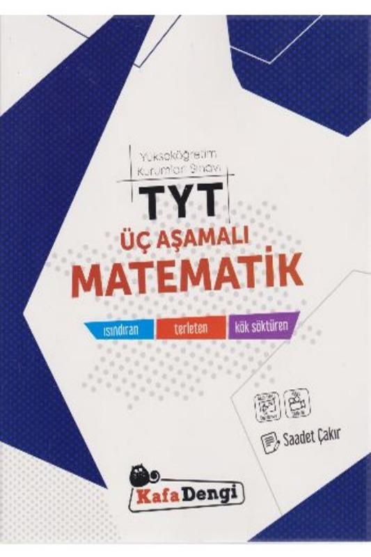 KafaDengi Yayınları TYT Üç Aşamalı Matematik Soru Bankası
