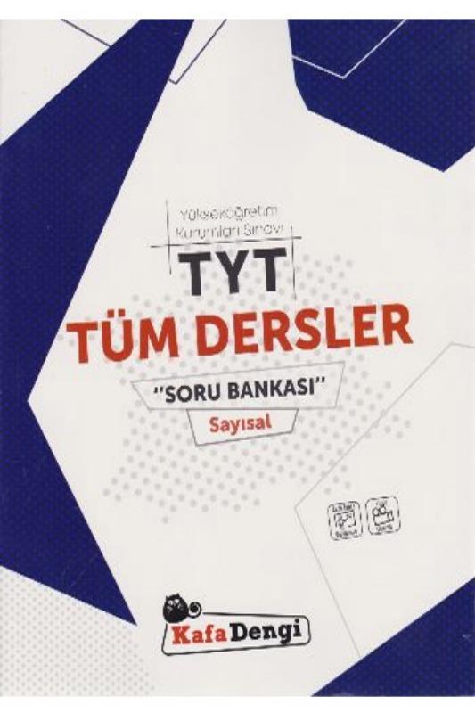 KafaDengi Yayınları TYT Tüm Dersler Sayısal Soru Bankası