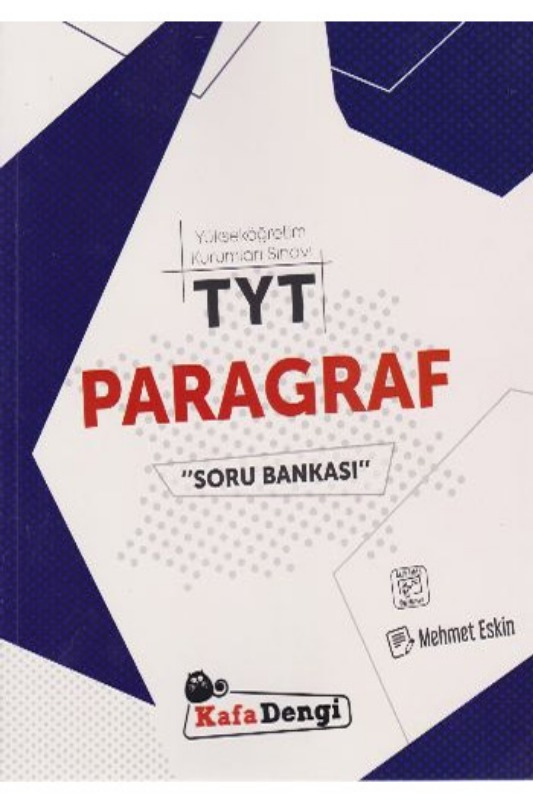 KafaDengi Yayınları TYT Paragraf Soru Bankası