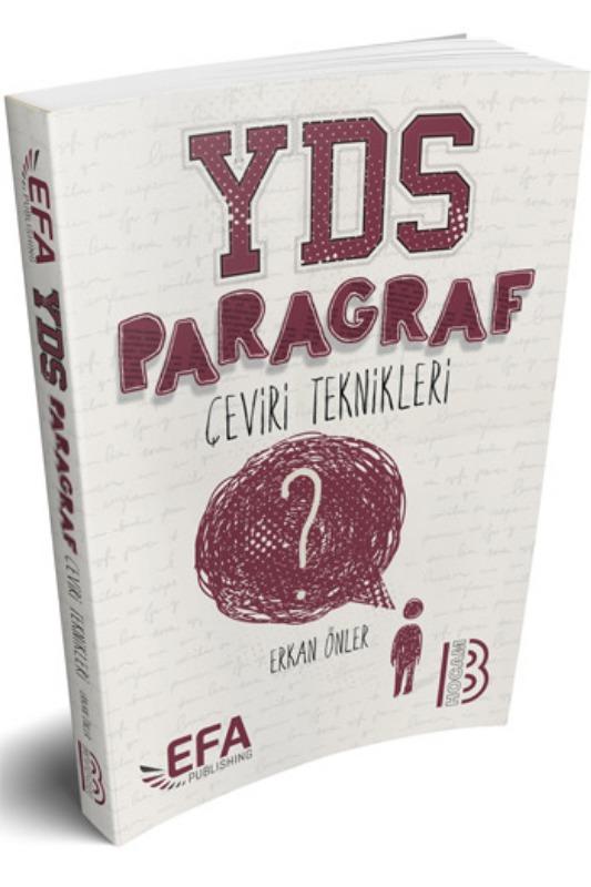 Benim Hocam Yayınları YDS Paragraf Çeviri Teknikleri