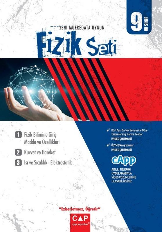 Çap 9. Sınıf Anadolu Lisesi Fizik Seti