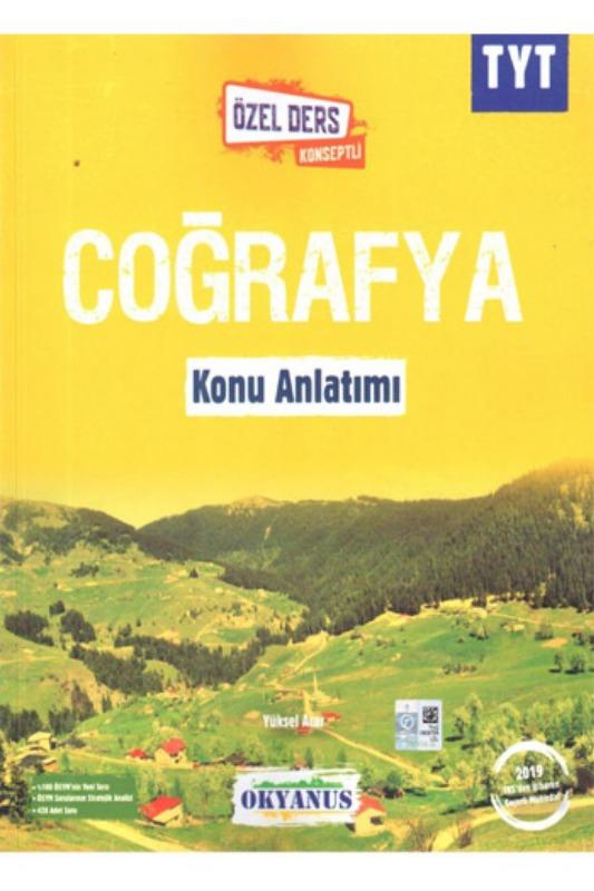 Okyanus Yayınları TYT Coğrafya Özel Ders Konseptli Konu Anlatımı