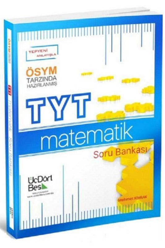 TYT Matematik Soru Bankası ÜçDörtBeş Yayınları
