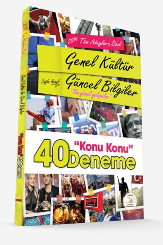 Yargı Yayınları  Tüm Adaylara Özel Genel Kültür Güncel Bilgiler Konu Konu 40 Deneme