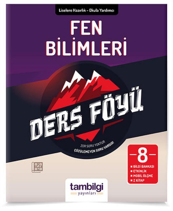 8.Sınıf Lgs Fen Bilimleri Ders Föyü Tambilgi Yayınları