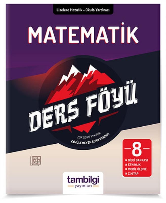 8.Sınıf Lgs Matematik Ders Föyü Tambilgi Yayınları