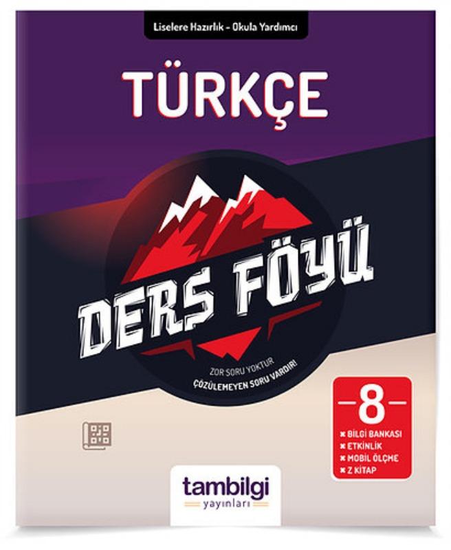 8.Sınıf Lgs Türkçe Ders Föyü  Tambilgi Yayınları