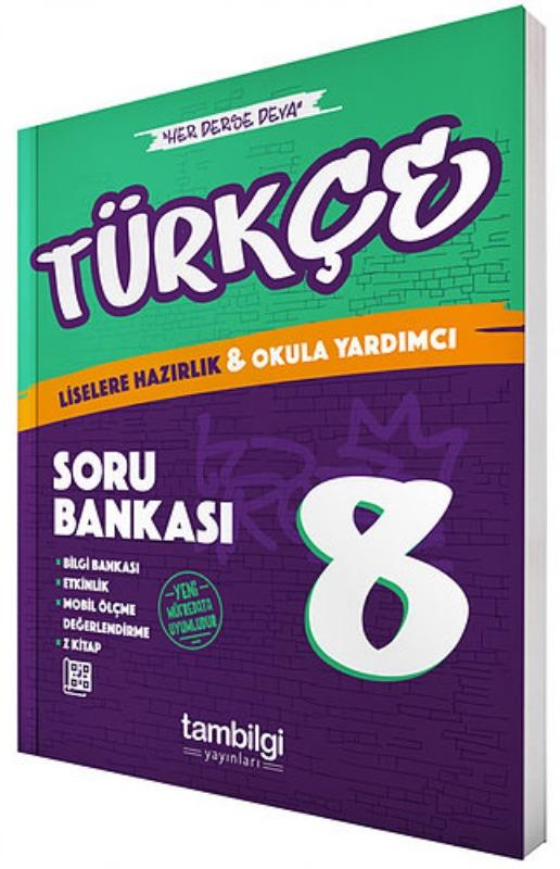 8.Sınıf Lgs Türkçe Soru Bankası Tambiligi Yayınları