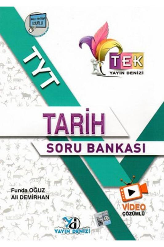 Yayın Denizi Yayınları TYT TEK Serisi Video Çözümlü Tarih Soru Bankası