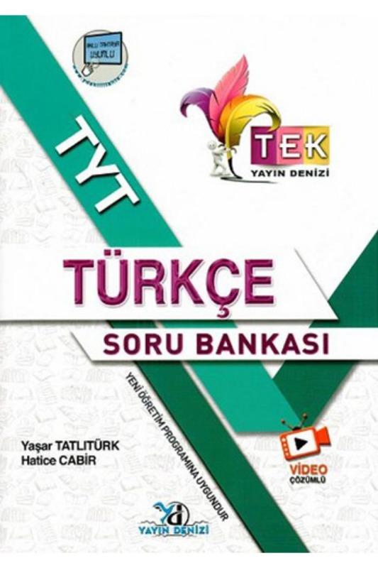 Yayın Denizi Yayınları TYT TEK Serisi Video Çözümlü Türkçe Soru Bankası