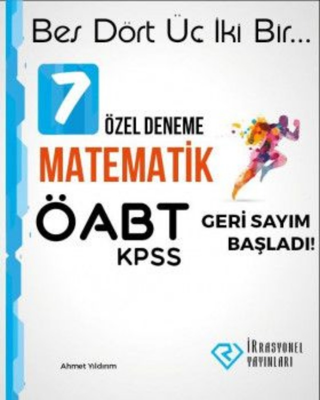 İrrasyonel Yayınları ÖABT Matematik 7 Özel Deneme