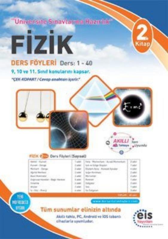 FİZİK  2. Kitap Üniversite Sınavlarına H. Ders Anlatım Föyleri Eis Yayınları