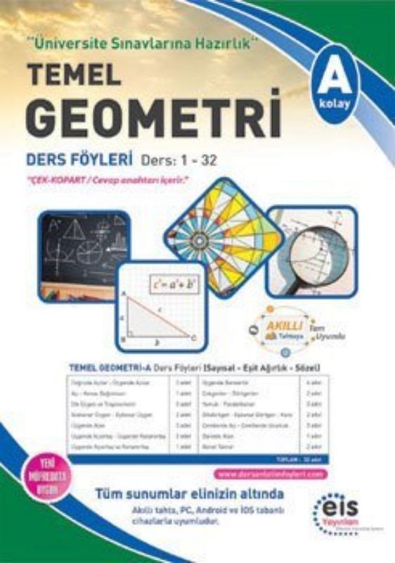 TEMEL GEOMETRİ - A Üniversite Sınavlarına H. Ders Anlatım Föyleri Eis Yayınları